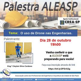 Palestra - O Uso de Drone nas Engenharias